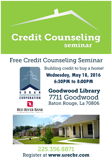 May 18 Flyer - Credit Counseling Seminar