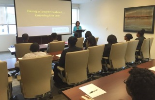 2015 NBR Fellows visit Kean Miller LLP of Baton Rouge.